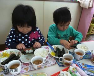 2016-平成28年2月3日 手巻き寿司 1