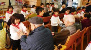 h29-12-19平成29年12月19日 ほほえみの里訪問2