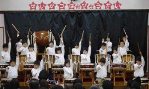 h29-12-9平成29年12月9日 生活発表会 5歳児 太鼓