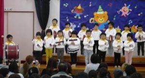 h29-12-9平成29年12月9日 生活発表会 4歳児 リズム