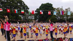 平成30年10月7日 下六小学校運動会参加 1