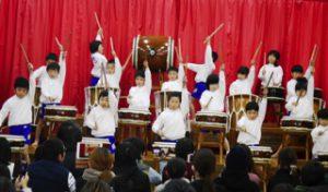 平成30年12月8日 発表会 7 5歳児 太鼓