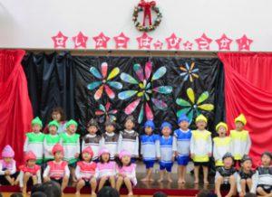 平成30年12月8日 発表会 5 3歳児 2