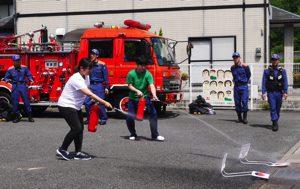 総合消防訓練 1 令和元年6月4日
