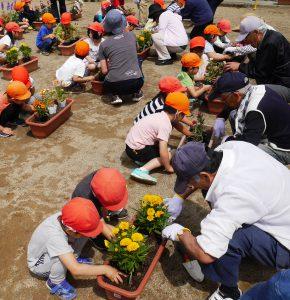 花いっぱい運動 2 令和元年5月21日