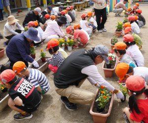 花いっぱい運動 1 令和元年5月21日