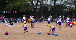 令和元年 10月 14日 小学校 運動会 参加 2