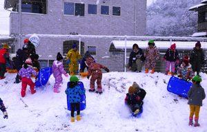 令和2年2月18日 雪遊び 3