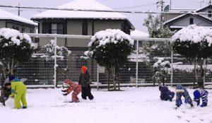 令和2年2月18日 雪遊び 2