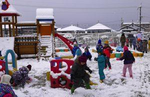 令和2年2月18日 雪遊び 1
