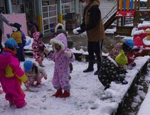 令和3年2月18日 雪あそび 3