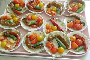 8月4日野菜のおやつ