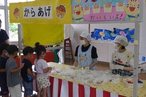 夏祭り給食 1